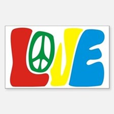 lovePeace Decal