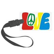 lovePeace Luggage Tag