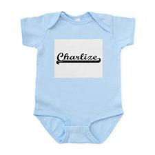 Charlize Classic Retro Name Design Body Suit