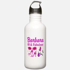 SNAZZY 60TH DIVA Water Bottle