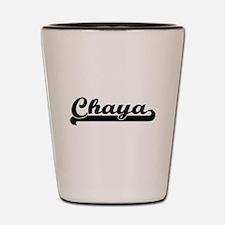 Chaya Classic Retro Name Design Shot Glass