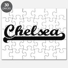 Chelsea Classic Retro Name Design Puzzle