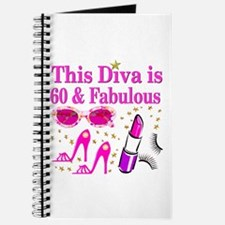 SNAZZY 60TH DIVA Journal