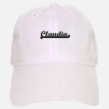 Claudia Classic Retro Name Design Baseball Baseball Cap