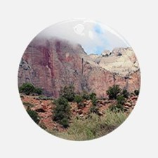 Zion National Park, Utah, USA 4 Ornament (Round)