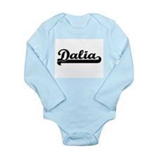 Dalia Classic Retro Name Design Body Suit
