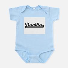 Danika Classic Retro Name Design Body Suit