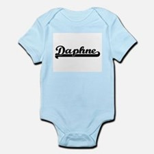 Daphne Classic Retro Name Design Body Suit