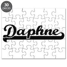 Daphne Classic Retro Name Design Puzzle