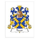 Tissot Family Crest Small Poster