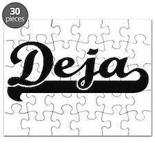 Deja Classic Retro Name Design Puzzle