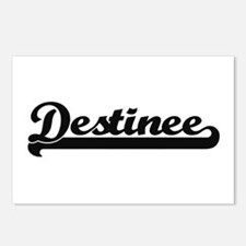 Destinee Classic Retro Na Postcards (Package of 8)