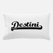 Destini Classic Retro Name Design Pillow Case