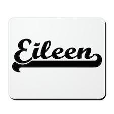 Eileen Classic Retro Name Design Mousepad
