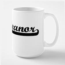 Eleanor Classic Retro Name Design Mugs