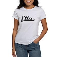 Ella Classic Retro Name Design T-Shirt