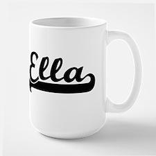 Ella Classic Retro Name Design Mugs