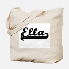 Ella Classic Retro Name Design Tote Bag