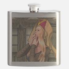 Medieval Lady Flask