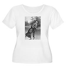 lce skating art Plus Size T-Shirt