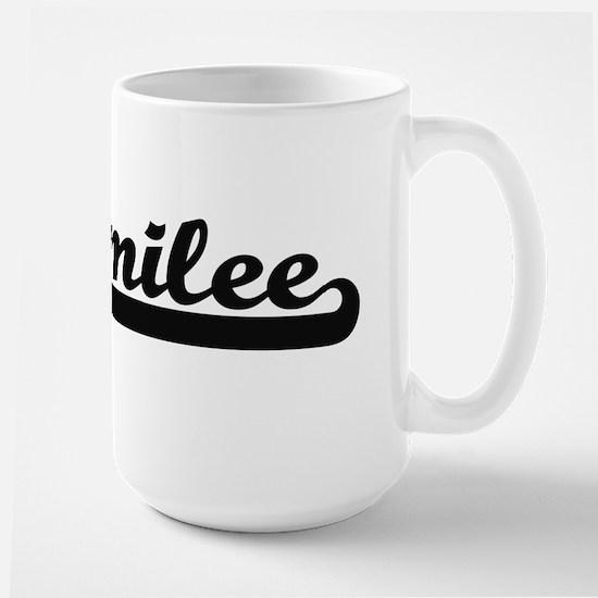 Emilee Classic Retro Name Design Mugs