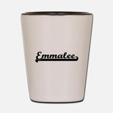 Emmalee Classic Retro Name Design Shot Glass