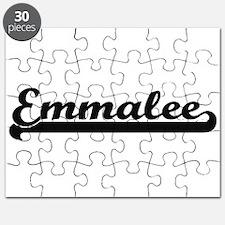 Emmalee Classic Retro Name Design Puzzle