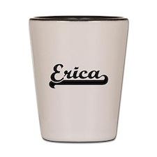 Erica Classic Retro Name Design Shot Glass
