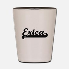 Erica Classic Retro Name Design Shot Glass