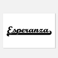 Esperanza Classic Retro N Postcards (Package of 8)