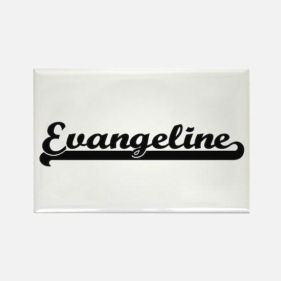 Evangeline Classic Retro Name Design Magnets