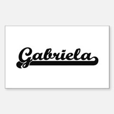 Gabriela Classic Retro Name Design Decal