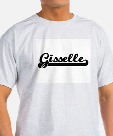 Gisselle Classic Retro Name Design T-Shirt