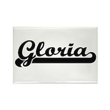 Gloria Classic Retro Name Design Magnets