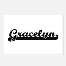 Gracelyn Classic Retro Na Postcards (Package of 8)