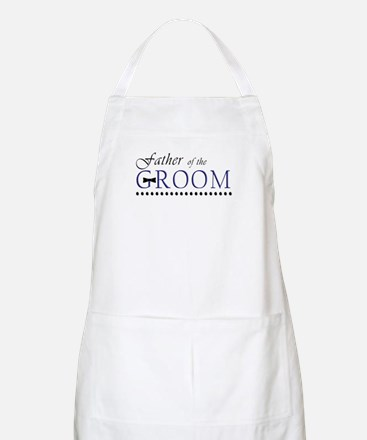 Father of the Groom BBQ Apron