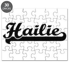 Hailie Classic Retro Name Design Puzzle