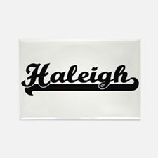 Haleigh Classic Retro Name Design Magnets