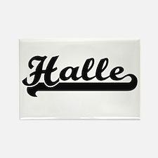 Halle Classic Retro Name Design Magnets