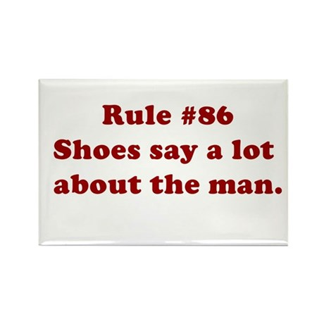 Rule #86 Rectangle Magnet