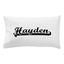 Hayden Classic Retro Name Design Pillow Case