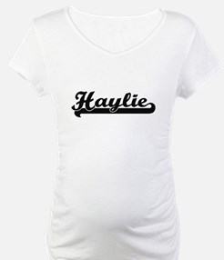Haylie Classic Retro Name Design Shirt