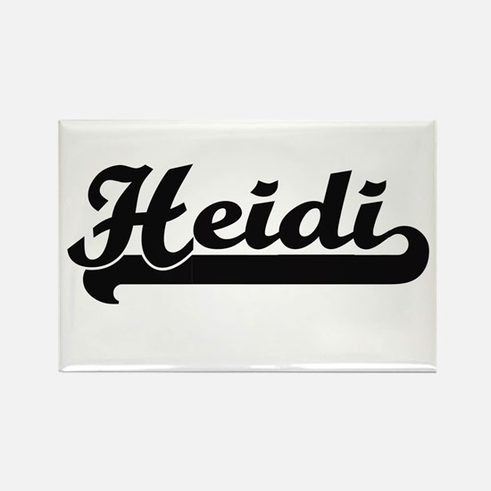 Heidi Classic Retro Name Design Magnets