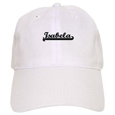 Isabela Classic Retro Name Design Baseball Cap