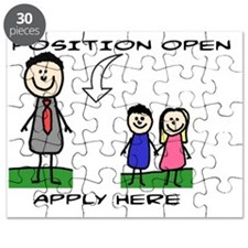 STICK FIGURE FAMILY - POSITION OPEN - MOM Puzzle