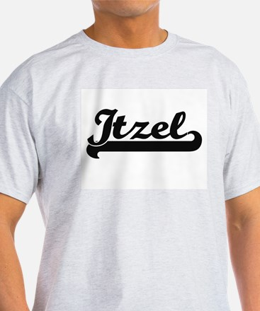 Itzel Classic Retro Name Design T-Shirt