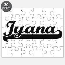 Iyana Classic Retro Name Design Puzzle
