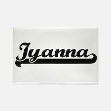 Iyanna Classic Retro Name Design Magnets