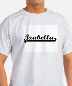Izabella Classic Retro Name Design T-Shirt