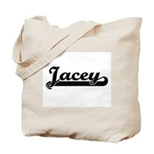 Jacey Classic Retro Name Design Tote Bag